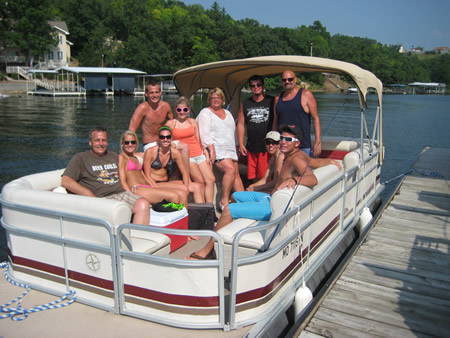 best pontoon boat rentals at lake of the ozarks